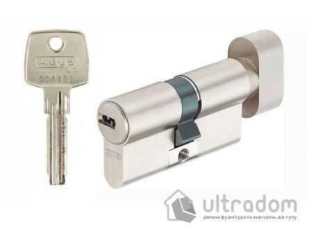 Цилиндр Abus KD6  ключ-вороток 100  мм никель