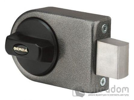 Замок накладной GERDA ZN200, лазерный ключ