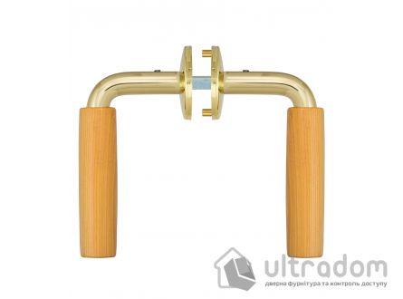 Дверная ручка  ABLOY  VILLA 11/002 латунь полированная