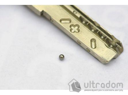 Цилиндр дверной MOTTURA Champions PRO ключ-ключ, 87 мм