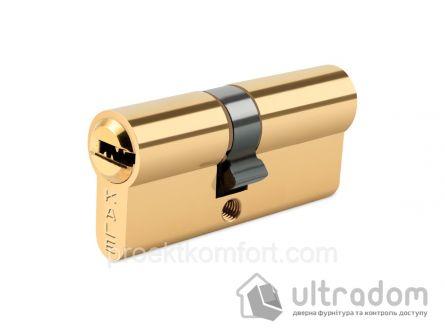 Цилиндр дверной KALE 164  BNE ключ-ключ 81 мм