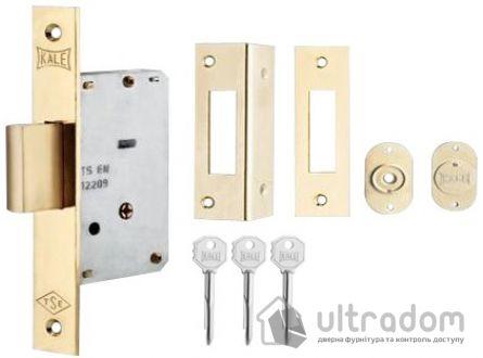 Замок дополнительный, крестовой ключ KALE 157/F 3 ключа
