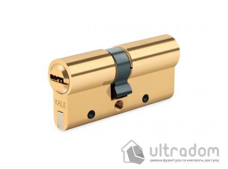 Цилиндр дверной KALE 164 DBNE ключ-ключ 80 мм