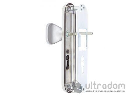 Фурнитура защитная ROSTEX R1 Universal 3 класс  матовый никель с фикс. ручкой 85- 90