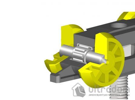Комплект роликов для раздвижной двери Valcomp Herkules 60