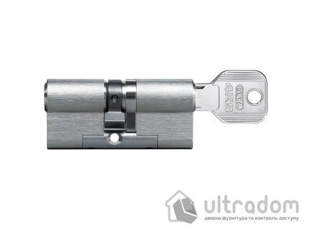 Цилиндр дверной EVVA 4KS DZ ключ-ключ, 137 мм