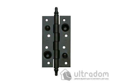 Дверные петли усиленные Amig 561 - 150 мм., цвет - черный матовый