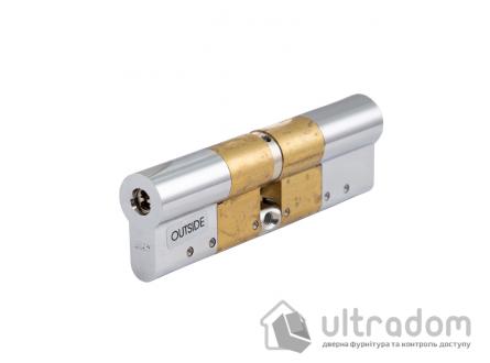 Дверной цилиндр ABLOY Novel ключ-ключ, 90 мм