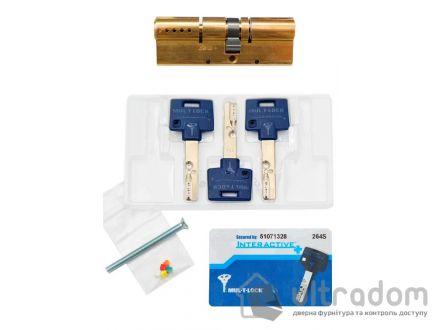 Цилиндр дверной Mul-T-Lock Interactive+ ключ-ключ., 54 мм
