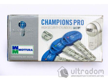Цилиндр дверной MOTTURA Champions PRO ключ-ключ 72 мм