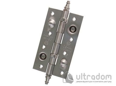 Дверная петля из нержавеющей стали AMIG m.567 150x80x3 мм с подшипниками.