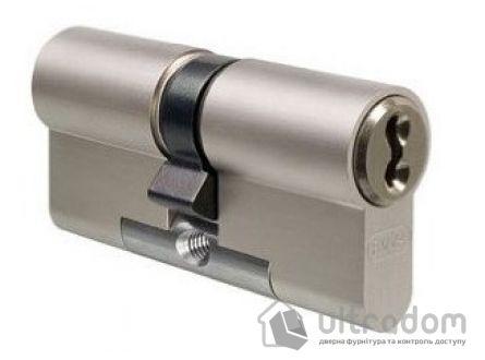 Цилиндр дверной EVVA 3 KS DZ кл-кл., никель 112 мм