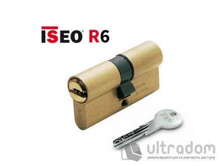 Цилиндр дверной ISEO R6 ключ-ключ, 75 мм