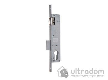 Корпус замка с роликом SIBA 10055P-20 для металлопластиковой двери.