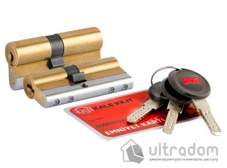 Цилиндр дверной KALE 164 CEC ключ-вороток 70 мм латунь