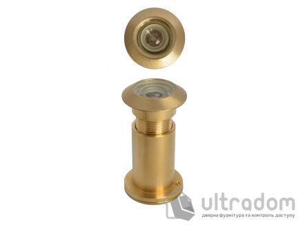 Дверной глазок Д-27 мм, латунный, 40-70 мм