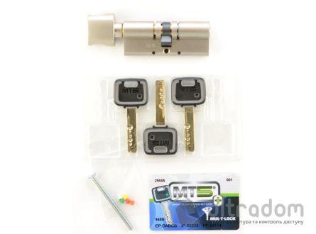 Цилиндр дверной Mul-T-Lock MT5+ ключ-вороток., 95 мм