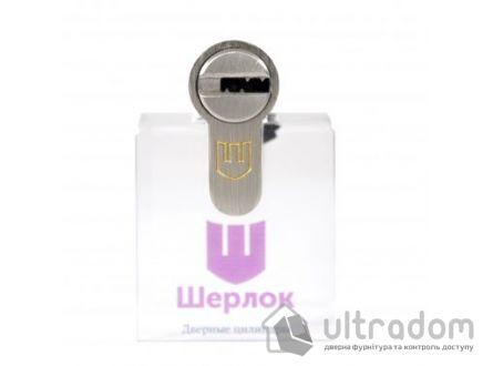 Цилиндр дверной Шерлок Hybrid Key кл-кл. 85 мм