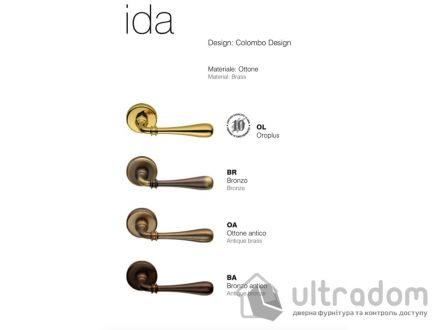 Дверная ручка Colombo Ida ID 31 полированная латунь