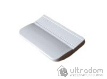 Ручка - ракушка балконная, пластиковая белая