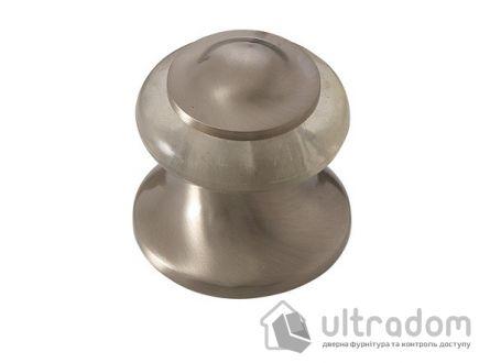 Упор дверной напольный, SIBA DS505 цвет - матовый никель