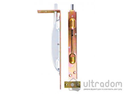 Дверной торцевой шпингалет JANIA 210 мм, УСИЛЕННЫЙ