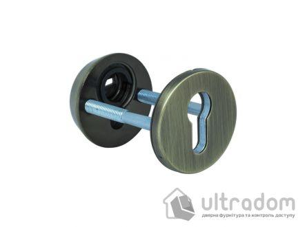 Броненакладка для цилиндра ESETY SL3 40-75 мм, античная бронза