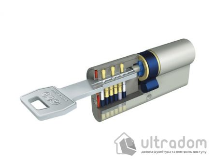 Цилиндр дверной AGB SCUDO 5000 PS ключ-ключ 60 мм