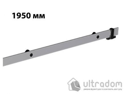 Направляющая рельса 1950 мм Mantion ROC Design в стиле LOFT, матовая серая