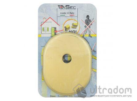 Декоративная накладка DISEC KT041 PZ OVAL THUMB латунь