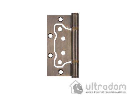Петли дверные накладные SIBA 100 мм, цвет - античная бронза