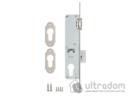Корпус замка с роликом KALE 155P-25 для металлопластиковой двери.