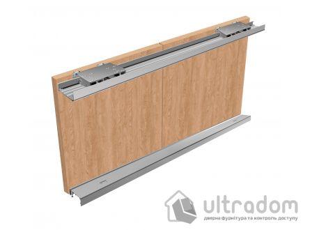 Valcomp IKAR одноплоскостная система для шкафа - купе, 2 двери