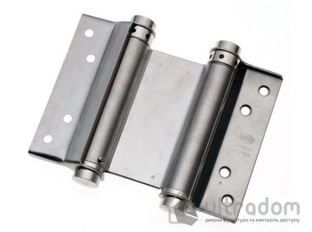 Петля маятниковая из нержавеющей стали AMIG m.3037 100x135 мм