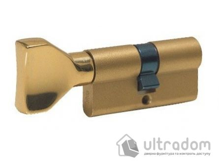Цилиндр дверной ISEO R7 ключ - вороток 65 мм