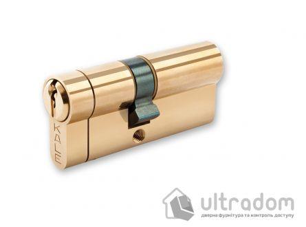 Цилиндр дверной KALE 164 KTB ключ-ключ 80 мм