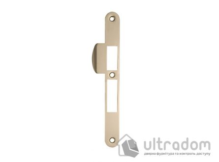 Ответка для замка SIBA 10585 под ключ, стандартная, цвет - латунь.