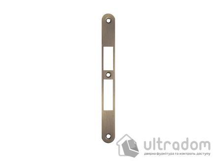Ответка для замка SIBA 10585 под ключ, стандартная, цвет - ант.бронза.