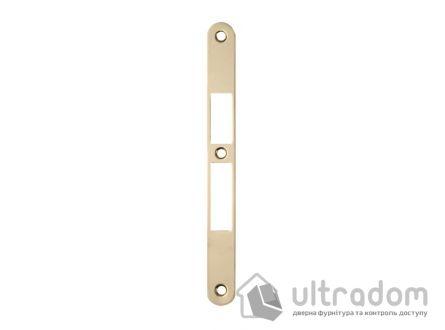 Ответка для замка SIBA 10585 под ключ, под четверть, цвет - латунь.