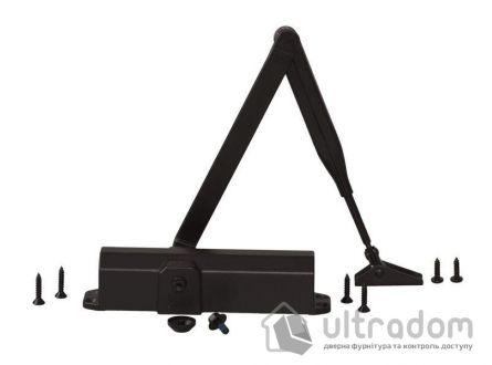 Доводчик дверной Dorma TS Compakt EN2/3/4,  дверь до 80 кг.