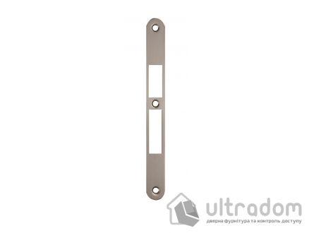 Ответка для замка SIBA 10585 под ключ, стандартная, цвет - мат.никель.
