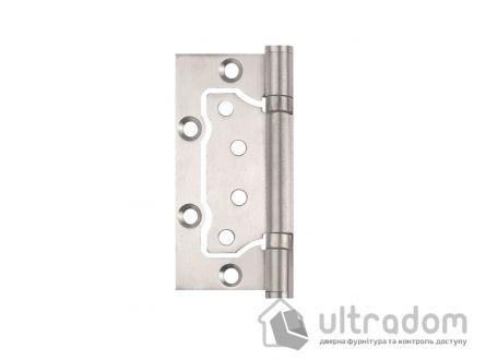 Петли дверные накладные SIBA 100 мм, цвет - матовый никель