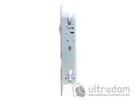 Корпус замка с роликом SIBA 10092/PR-25 для металлопластиковой двери.