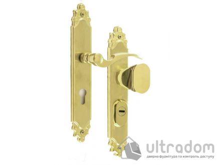 Фурнитура защитная ROSTEX R1 Ozdobna 3 класс  латунь с фикс. ручкой 72-85-90-92