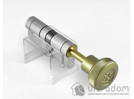 Цилиндр дверной MOTTURA Champions PRO ключ-вороток 122 мм 91x31T