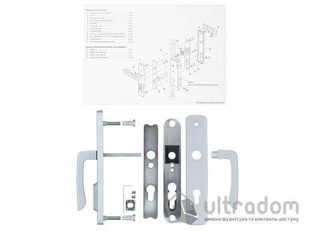 Фурнитура защитная ROSTEX R4 Astra 3 класс  хром матовый 85-90