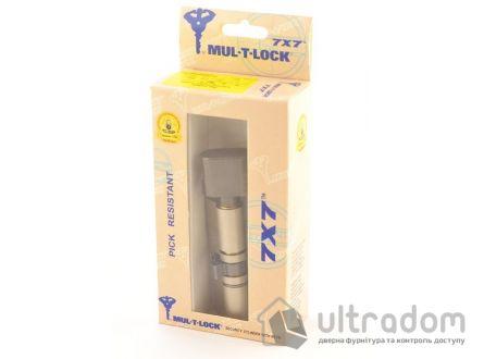 Цилиндр дверной Mul-T-Lock 7x7 кл-вороток., 100 мм