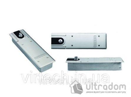 Доводчик напольный Geze TS 500 NV EN1-4, дверь до 60 кг c фиксацией 90°