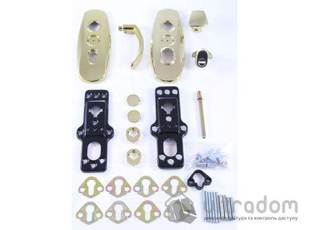 Фурнитура защитная  MUL-T-LOCK Platinum 3 класс 90 мм латунь fix-mov
