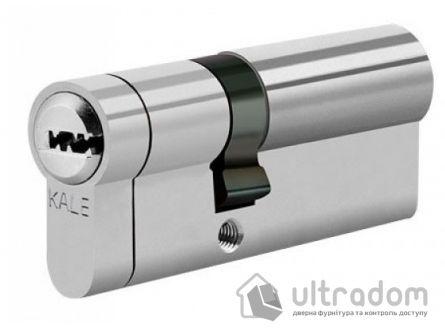 Цилиндр дверной KALE 164 KTB ключ-ключ 62 мм никель